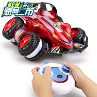 遥控车越野车充电无线遥控汽车儿童玩具男孩玩具车赛车电动大脚车c 红色 小号