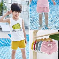 男童沙滩短裤夏季儿童休闲运动裤子女宝宝热裤小童外穿潮