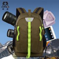 申派相机包双肩 索尼康摄影包 男背包单反包 650d 700d佳能相机包 SY18 专业双肩摄影包 男女佳能尼康单反数