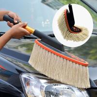 汽车蜡刷除尘掸子 车用洗车拖把棉线扫灰蜡刷蜡拖清洁工具用品