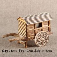 竹木工艺品摆件 风车农用工具模型 仿真办公桌家居摆设 儿童玩具