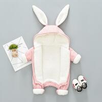 宝宝秋冬装套装女0一1岁男婴儿衣服网红连体衣婴幼儿加厚外出抱衣