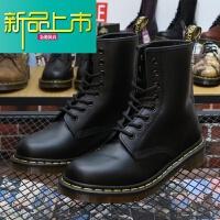 新品上市香港购.m马丁靴男靴经典款8孔厚底英伦机车短靴女