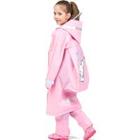 ���包位�和�雨衣 男童女童幼��@雨衣 可�����雨衣 卡通雨衣 小�W生���包位防水雨衣 加厚雨披