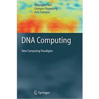 【预订】DNA Computing 9783642083884