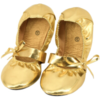 金色肚皮舞鞋软底练功鞋防滑牛筋底舞蹈鞋银色女儿童印度舞鞋