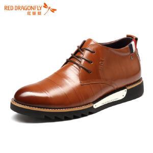 红蜻蜓男鞋休闲皮鞋秋冬休闲鞋子男WTD52151