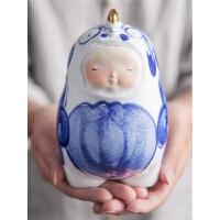 陶瓷摆件家居装饰品创意可爱生日礼物