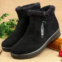 棉鞋女冬季保暖加绒加厚中老年人棉鞋高帮滑妈妈棉鞋