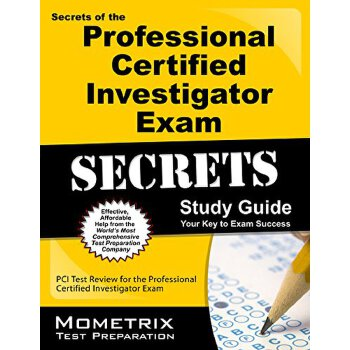 【预订】Secrets of the Professional Certified Investigator Exam Study Guide 美国库房发货,通常付款后3-5周到货!