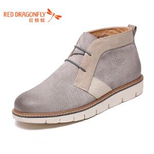 红蜻蜓男鞋休闲鞋秋冬鞋子男男靴子WZA6258