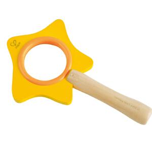 Hape小王子星星魔棒放大镜3-6岁儿童启蒙益智玩具婴幼玩具木制玩具824712