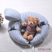 棉恬 喂奶枕头多功能哺乳垫婴儿护腰水洗棉宝宝喂奶神器 哺乳枕