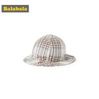 【3件4折价:27.96】巴拉巴拉男童帽子夏装新款儿童盆帽潮女时尚洋气纯棉透气韩版