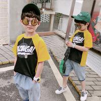 男童短袖套装儿童男孩两件套