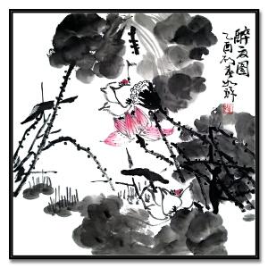 著名书画家 崔如琢 《花鸟1》