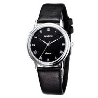 真皮带女士手表皮带手表 防水复古时尚潮流学生手表 韩版女表