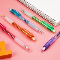 日本PILOT百乐摇摇出铅自动铅笔可爱彩色笔杆HFGP-20N小学生用不断铅考试铅笔儿童幼儿园写字进口自动笔0.5mm