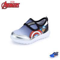 【119元任选2双】迪士尼Disney童鞋19新款美国队长运动鞋儿童透气休闲鞋男童学生鞋(5-10岁可选)VA4035
