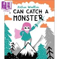 【中商原版】Bethan Woollvin:I Can Catch a Monster 捉到一只小怪兽 低幼亲子故事绘本