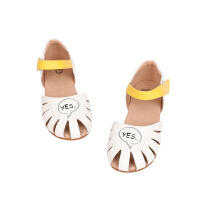 【秒杀价:167元】马拉丁童鞋女童鞋子2020夏季新款撞色透气洋气儿童小皮鞋凉鞋