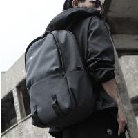 男士双肩包背包男简约休闲学生书包旅游旅行包电脑包韩版时尚潮流