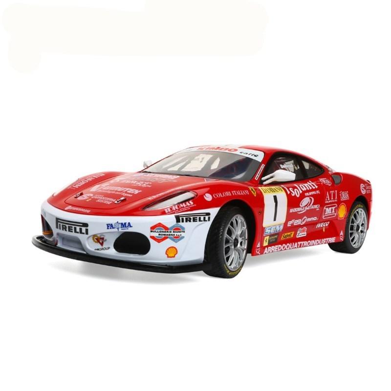 法拉利遥控赛车可充电汽车男孩电动模型跑车赛车模型玩具