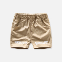 宝宝休闲短裤男童夏季薄款透气裤子儿童字母印花童裤
