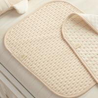 钱皇彩棉婴儿隔尿垫大号水隔尿垫儿用品床垫月经垫定制 婴幼儿隔尿垫 棕色条 三条装