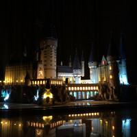 兼容乐高哈利波特大型积木模型电影周边拼装拼插玩具礼物摆件 灯光版