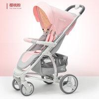 婴儿车推车可坐躺折叠高景观轻便0-3岁童手推童车