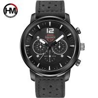 男士运动休闲户外大表新款透气表带石英时尚欧美手表