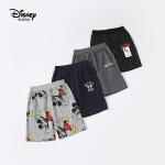 【99元3件】迪士尼宝宝快乐星球男童针织中裤夏季新品
