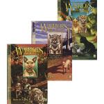 英文原版 Warriors: Tigerstar and Sasha 猫武士 虎星与莎夏3册 漫画绘本小说 儿童冒险文