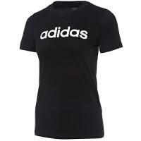 Adidas阿迪达斯 女装 运动休闲透气跑步短袖T恤 DP2361