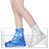 雨鞋套时尚斑马纹雨天男女式加厚耐磨雨鞋儿童雨鞋鞋套