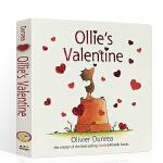 Ollie's Valentine 英文原版绘本 儿童启蒙英语绘本纸板图画故事书 名家Oliver Dunrea 小鹅