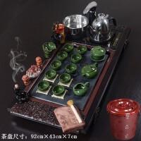 实木茶盘茶具套装紫砂功夫茶具陶瓷礼品全自动电器茶盘茶杯茶壶茶道功夫茶具套装家用整套茶具