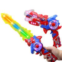 星球大战光剑抖音同款儿童激光剑玩具绝地武士十字伸缩发声发光剑