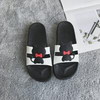 卡通拖鞋女夏室内滑洗澡韩国软底可爱韩版浴室家居鞋厚底凉拖鞋