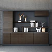 柜子储物柜多功能组装木柜子简易储物柜多层收纳办公文件柜资料柜ll 400mm