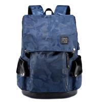 男士双肩包男时尚潮流背包男韩版大学生书包休闲旅行包电脑包男包