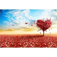 智力玩具生日情人礼物 爱心树木质拼图1000/1500片