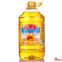 鲁花-5L压榨葵花仁油(赠500ml酱油)