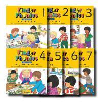 【预订】Finger Phonics, Books 1-7: In Print Letters 手指发音1-7系列木板