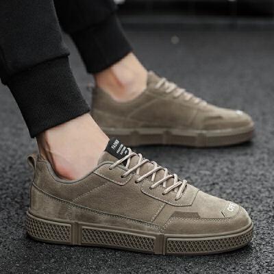 201新品个性百搭休闲板鞋韩版潮流男士运动休闲鞋子   冬季时尚新款女鞋 男鞋