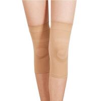 防护压力护膝运动硅胶护膝保暖保健防滑发热护膝护具静脉曲张袜