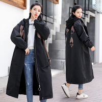 外套羽绒棉 孕妇棉衣女中长款2018冬季时尚款韩版宽松棉袄孕妇