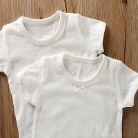 短袖t恤夏季女童宝宝婴儿纯棉半袖上衣儿童装睡衣女孩