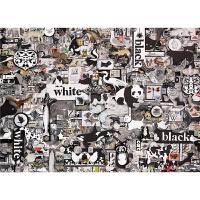 拼图 1000片拼图 黑白动物 拼图
